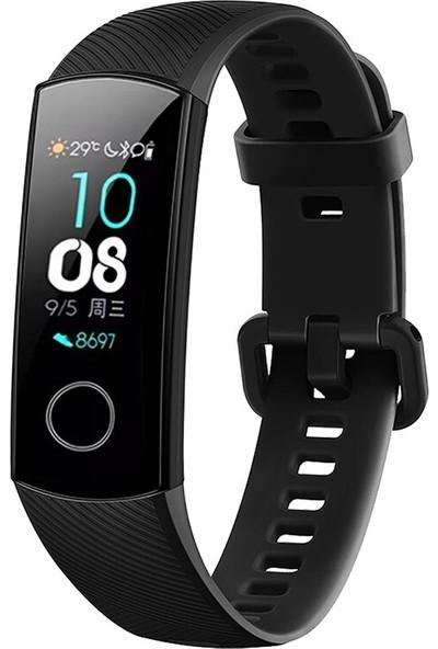 Tiegem Huawei Honor Band 4 Kordon Saat Kayışı Siyah