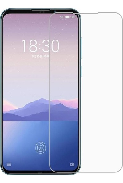 Kılıfist Meizu 16XS Zore Maxi Glass Temperli Cam Ekran Koruyucu Şeffaf