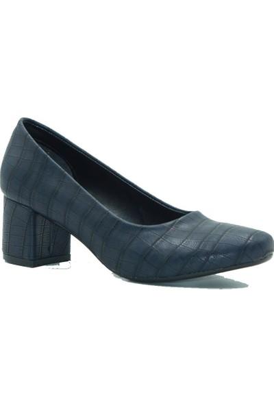 Aktenli Kadın Topuklu Ayakkbı 50111 Lacivert