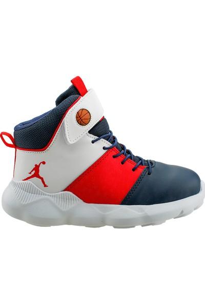 Kiko K-31 Günlük Spor Erkek Çocuk Basketbol Ayakkabısı Lacivert 31