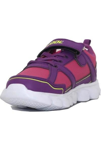 Cool Mor Fuşya Kız Çocuk Spor Ayakkabı 19-K11 Flt 31