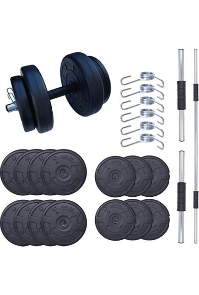 Aydın Sport 55 kg Dambıl Seti (Dumbell) Ağırlık Seti