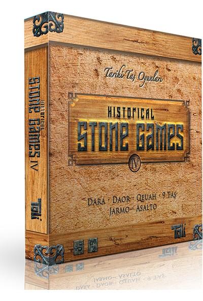 Toli Games Historical Stone Games-4 (Tarihi Taş Zeka Oyunu)