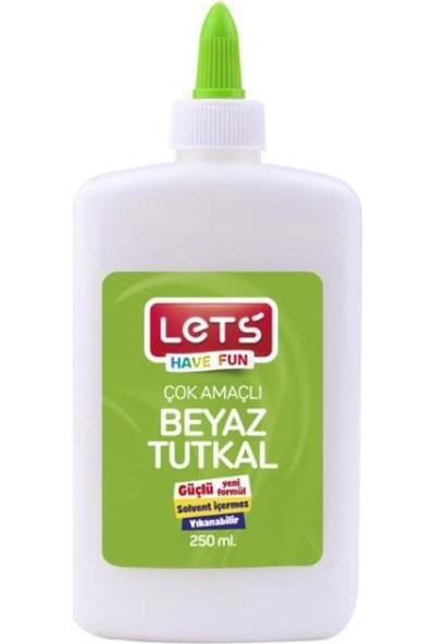 Let's Çok Amaçlı Beyaz Tutkal 250 ml