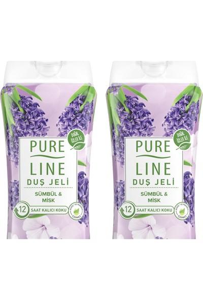 Pure Line Sümbül & Misk Duş Jeli 400 ml 2 Adet