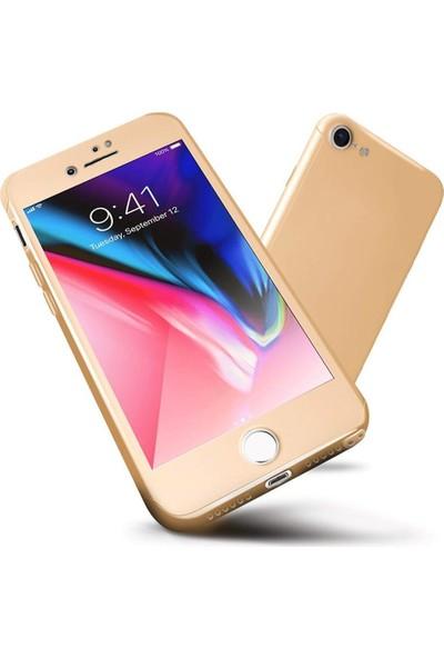 Engo Apple iPhone 7 Kılıf Gold 360 Derece Koruma
