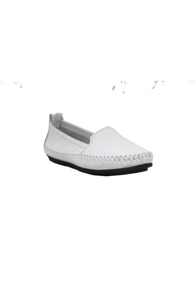 Marine Shoes Deri Kadın Ayakkabı 20Y-094 39