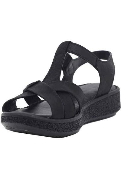 Marine Shoes Deri Kadın Sandalet 20Y-099-100 36