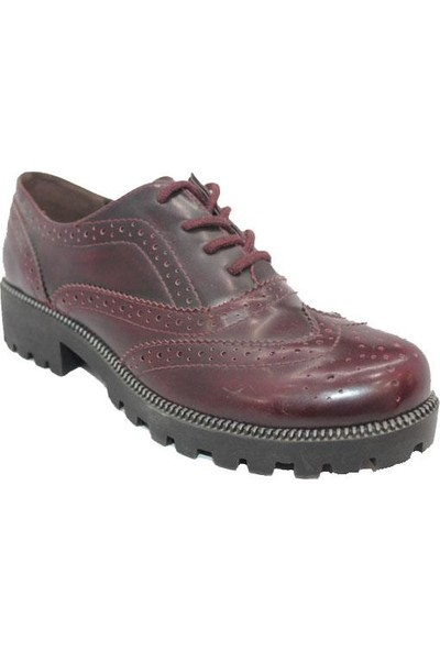 Polaris Bordo Kadın Günlük Ayakkabı 307729 40