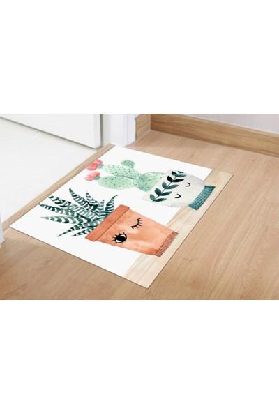 Soley Three Cactus Djt 40 x 60 cm Banyo Paspası 0456 01