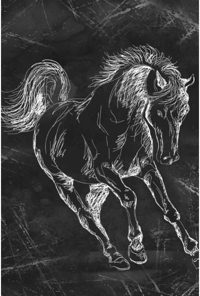 Soley Horse Djt 40 x 60 cm Banyo Paspası 0478 01