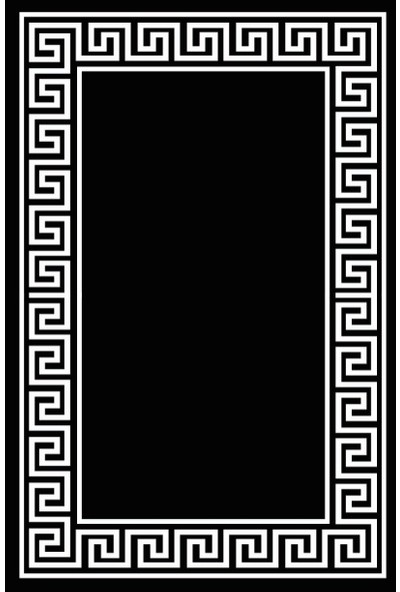Soley Topkapı Djt 40 x 60 cm Banyo Paspası 0676 01