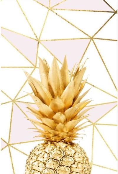Soley Altın Ananas Djt 40 x 60 cm Banyo Paspası 0682 01