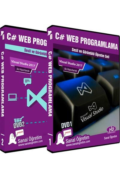 Sanal Öğretim C# Web Programlama (Visual Studio 2017 Ile) Video Eğitim Seti