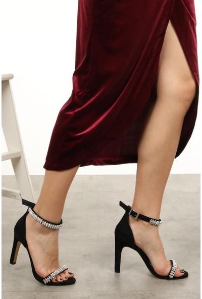 Mio Gusto Paris Siyah Abiye Ayakkabı