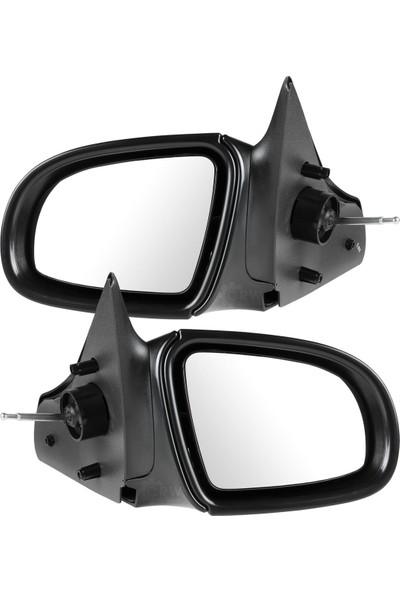 Yedekparçabudurr Opel Corsa B Manuel Sol Dış Dikiz Aynası Komple
