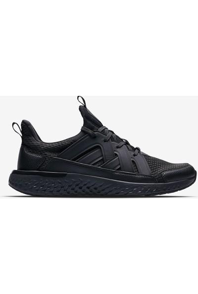 Lescon Hellium Spike Siyah Erkek Koşu Ayakkabı