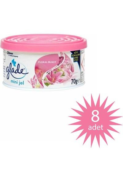 Glade All Joy Floral Perfection 70 gr/30TR 8'li