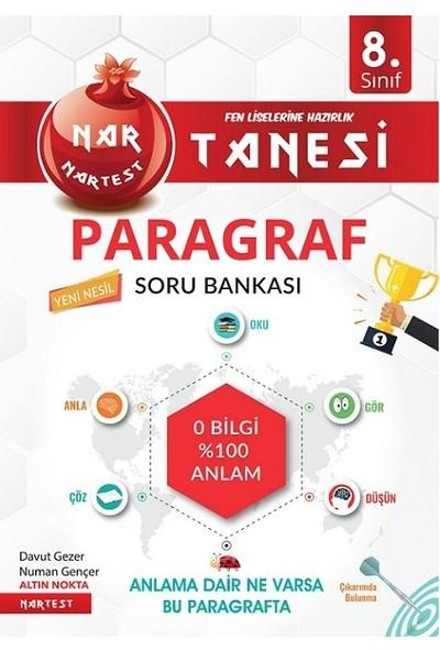 Nartest Yayınevi LGS 8. Sınıf Nar Tanesi Altın Sorular Paragraf ve Türkçe Soru Bankası Seti