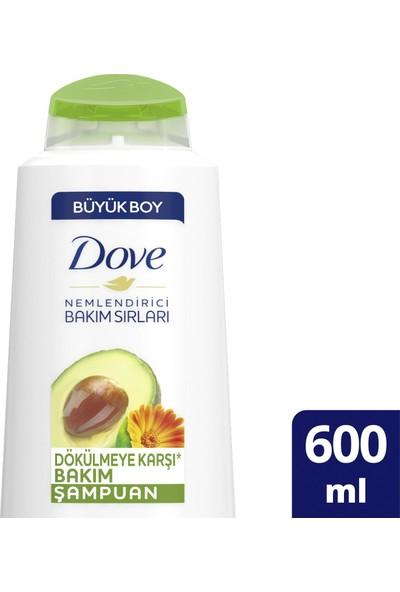 Dove Avakado ve Kalendula Özlü Şampuan 600 ml