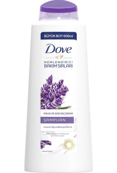 Dove Lavanta ve Biberiye Özlü Şampuan 600 ml
