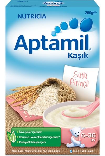 Aptamil Sütlü Pirinçli Tahıl Bazlı Kaşık Maması 250 g 6-36 Ay