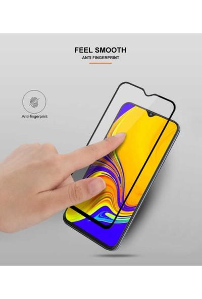 Herdem Huawei Y7 Prime 2019 Ekran Koruyucu 5D Tam Kaplayan Cam - Siyah