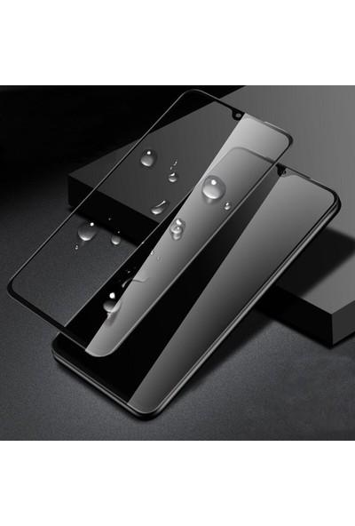 Herdem Xiaomi Mi 9 Lite Ekran Koruyucu 5D Tam Kaplayan Cam - Siyah