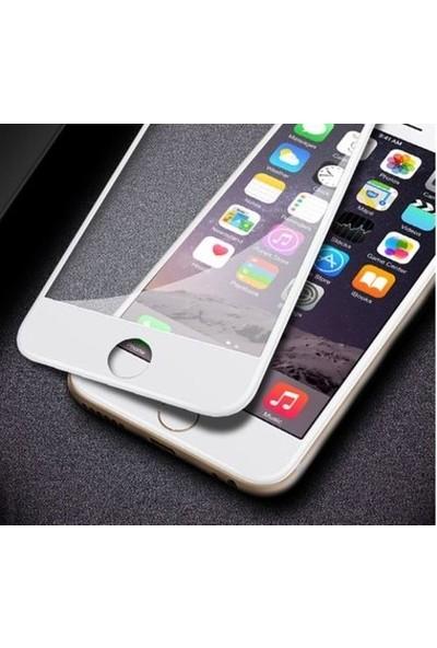 Herdem iPhone 8 Plus Ekran Koruyucu 5D Tam Kaplayan Cam - Siyah