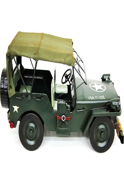 Mnk Metal Askeri Jeep