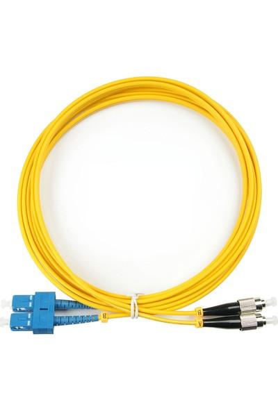 Moz Fc-Sc / Pc, Singlemode, Dublex, 2.0mm, 1m, Patchcord