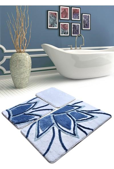 Chilai Home Lotus Mavi 3 Lu Set