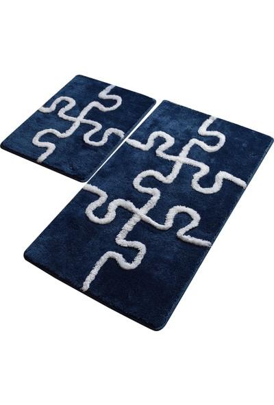Chilai Home Puzzle Mavi 2 Li Set