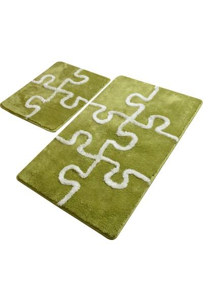 Chilai Home Puzzle Fistik Yeşili 2 Li Set