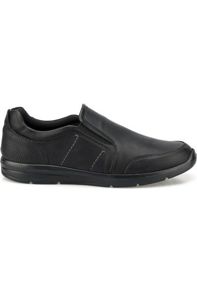 Polaris 160007.M Siyah Erkek Comfort Ayakkabı