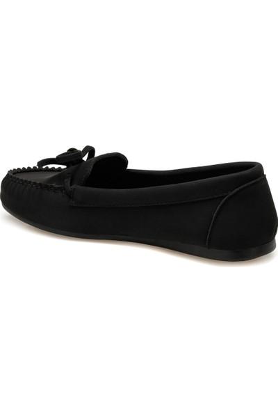 Miss F Ds20054 Siyah Kadın Loafer Ayakkabı