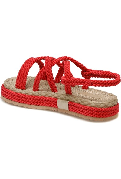 Butigo Rossa Kırmızı Kadın Sandalet