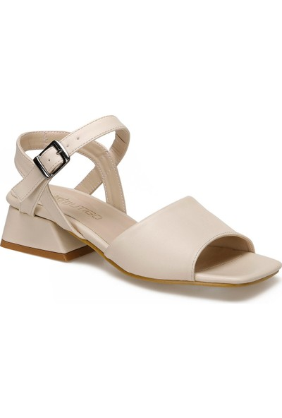 Butigo Galindo Bej Kadın Topuklu Ayakkabı