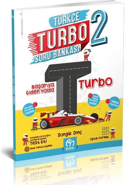 Model Yayınevi 2. Sınıf Turbo Türkçe Soru Bankası 2020