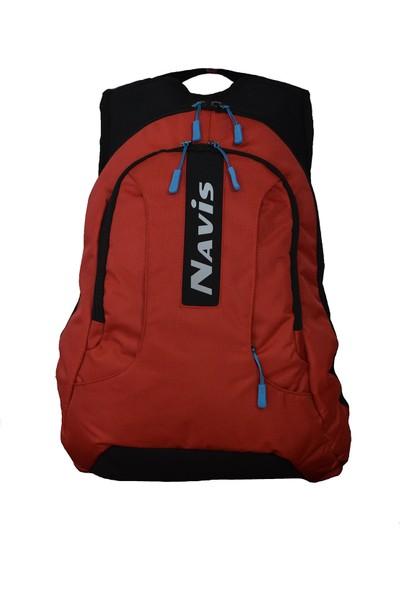 Navis Fortis Reflektörlü Sırt Çantası Kırmızı