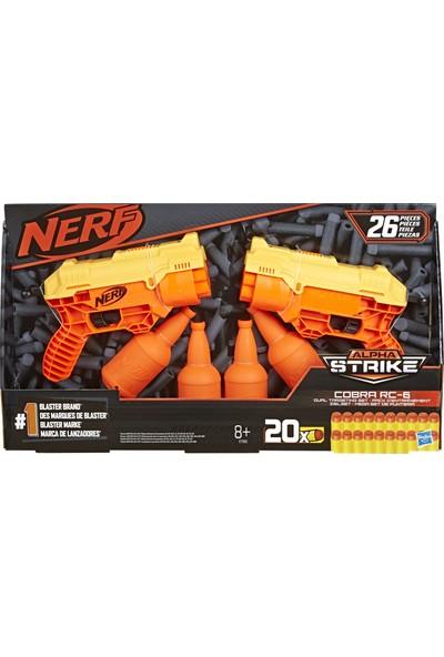 Hasbro Nerf Alpha Strike Cobra Rc 6 Dual Target Set E7565