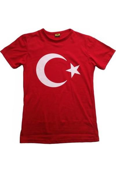 Salar Bayrak Tişört 23 Nisan Çocuk Tişörtü Pamuklu Ürün Unisex