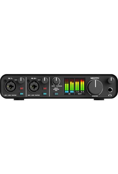 Motu M4 ESS Sabre32 Ultra 4-Giriş 4-Çıkış 24bit/192kHz USB-C (Type C) Ses Kartı