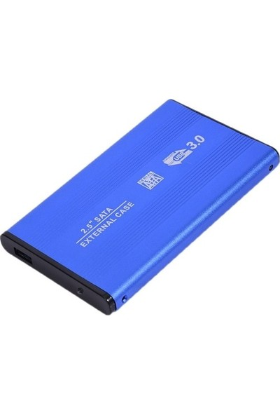 "Serel USB 2.5"" Harici HDD Kutusu USB 3.0 Alüminyum Mavi"