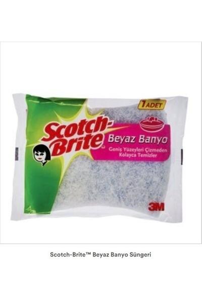 Scotch Brite Beyaz Banyo Süngeri