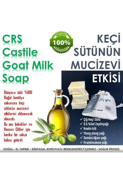 Crs Doğal Yüz Bakım Sabunu (E Vitamini + Keçi Sütü)