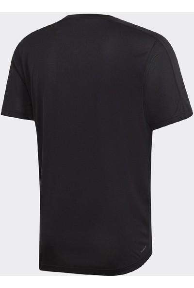 adidas D2M Tee Siyah Erkek ¾ Kol T-Shirt