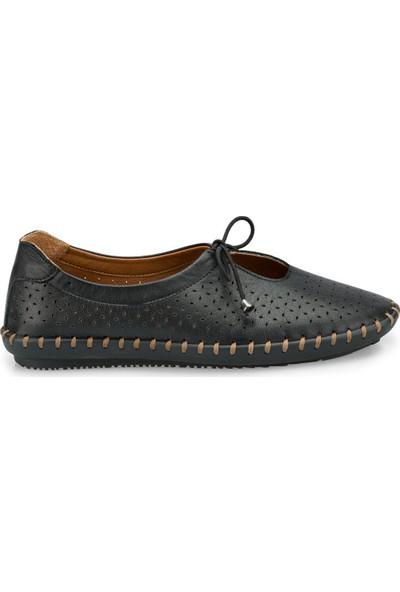 Polaris 103084.Z Siyah Kadın Ayakkabı