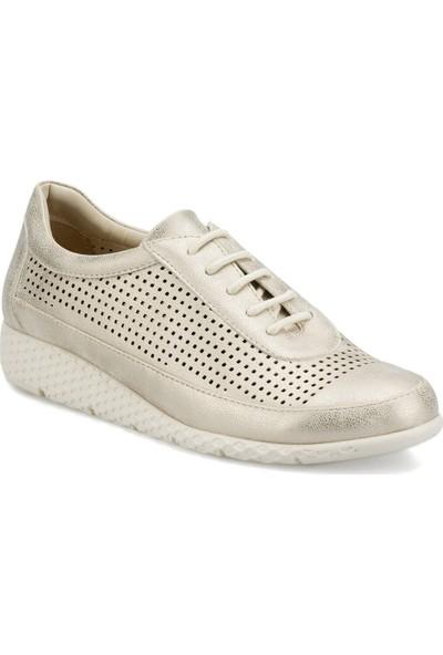 Travel Soft Trv1620.Z Altın Kadın Ayakkabı