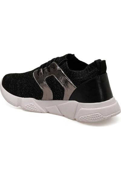 Butigo 19S-509 Siyah Kadın Spor Ayakkabı